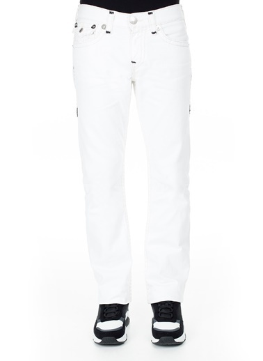 True Religion  Jeans Erkek Kot Pantolon M58859Cd1C1821 Beyaz